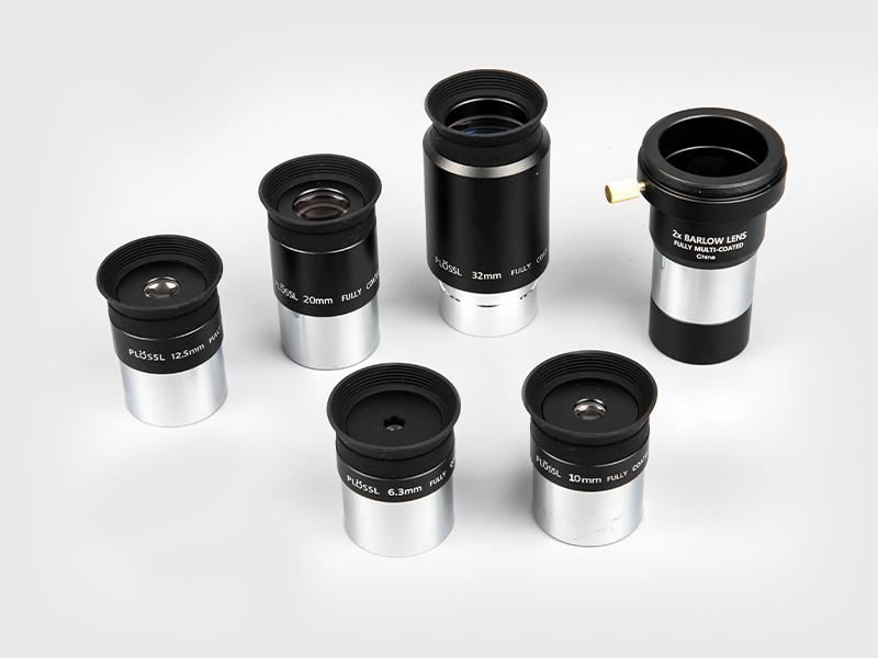 プロスル6.3mm-10mm-12.5mm-20mm-32mm+2X バーロウアイピース